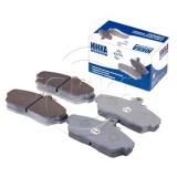 Колодки 3302-3501800  дисковые передние на 3302, 3110, 2217, 2752, с пазом,  фрикционный материал